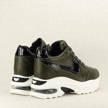 Sneakers kaki High Top Abby [3]