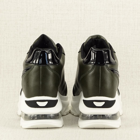 Sneakers kaki High Top Abby [6]