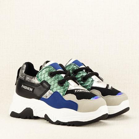 Sneakers negru Valeria3