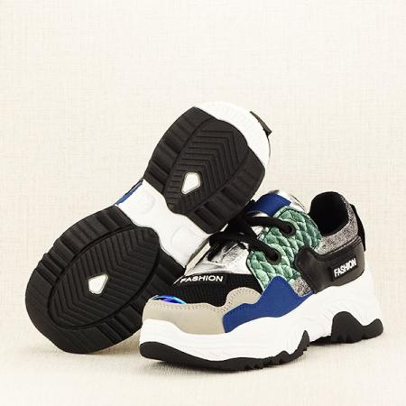 Sneakers negru Valeria7