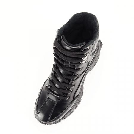 Sneakers negri cu talpa groasa Betty5