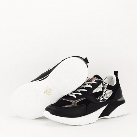 Sneakers negru Fabia [7]