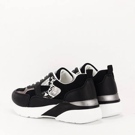 Sneakers negru Fabia [3]