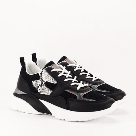 Sneakers negru Fabia [2]