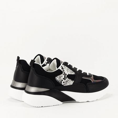 Sneakers negru Fabia [4]