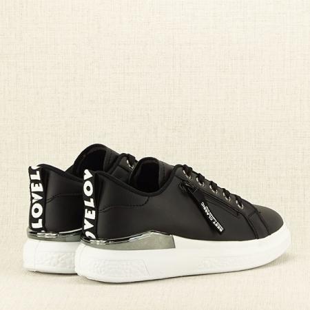Sneakers negru Brenda [4]