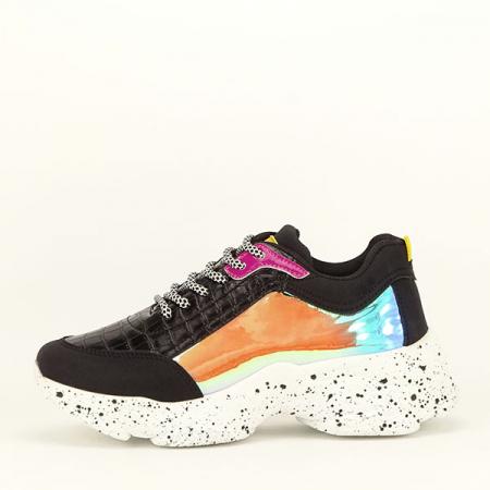 Sneakers negru Daiana0