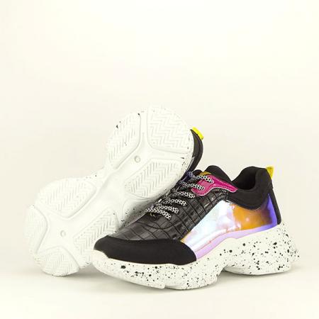 Sneakers negru Daiana7