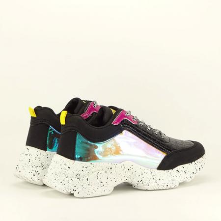Sneakers negru Daiana5