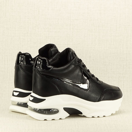 Sneakers negru High-Top Abby5
