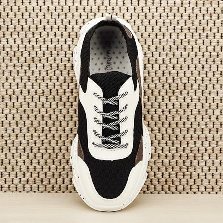 Sneakers negru Martina [6]