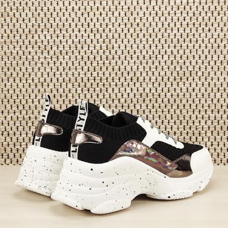 Sneakers negru Martina [4]