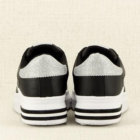 Sneakers negru Sonia 26