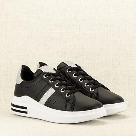 Sneakers negru Sonia 23
