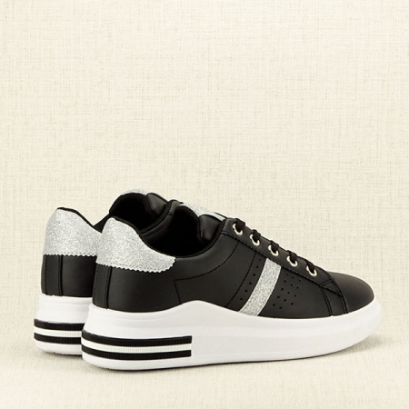 Sneakers negru Sonia 25