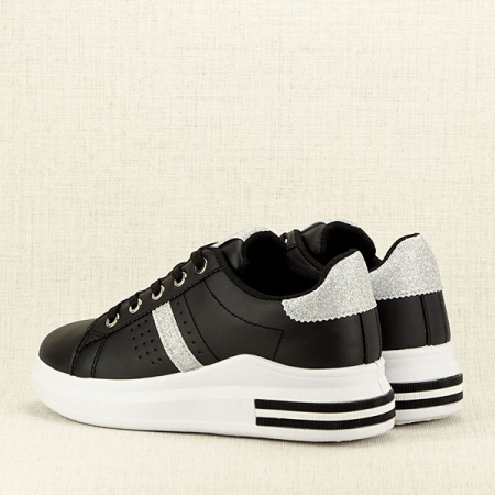 Sneakers negru Sonia 24