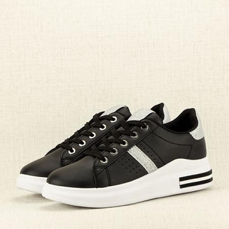 Sneakers negru Sonia 22