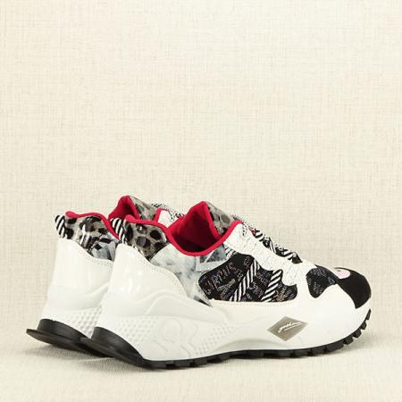 Sneakers negu cu alb Dana4