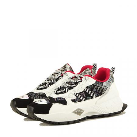 Sneakers negu cu alb Dana0