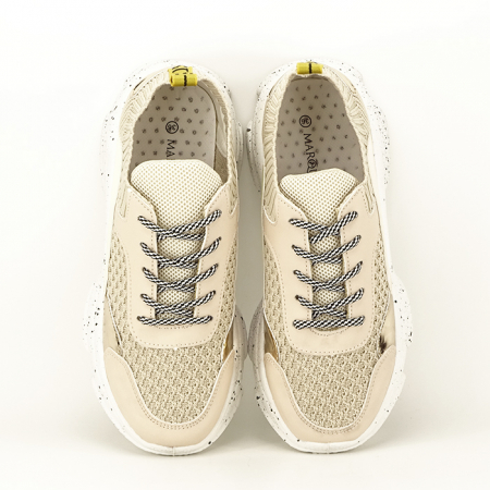 Sneakers bej Martina4