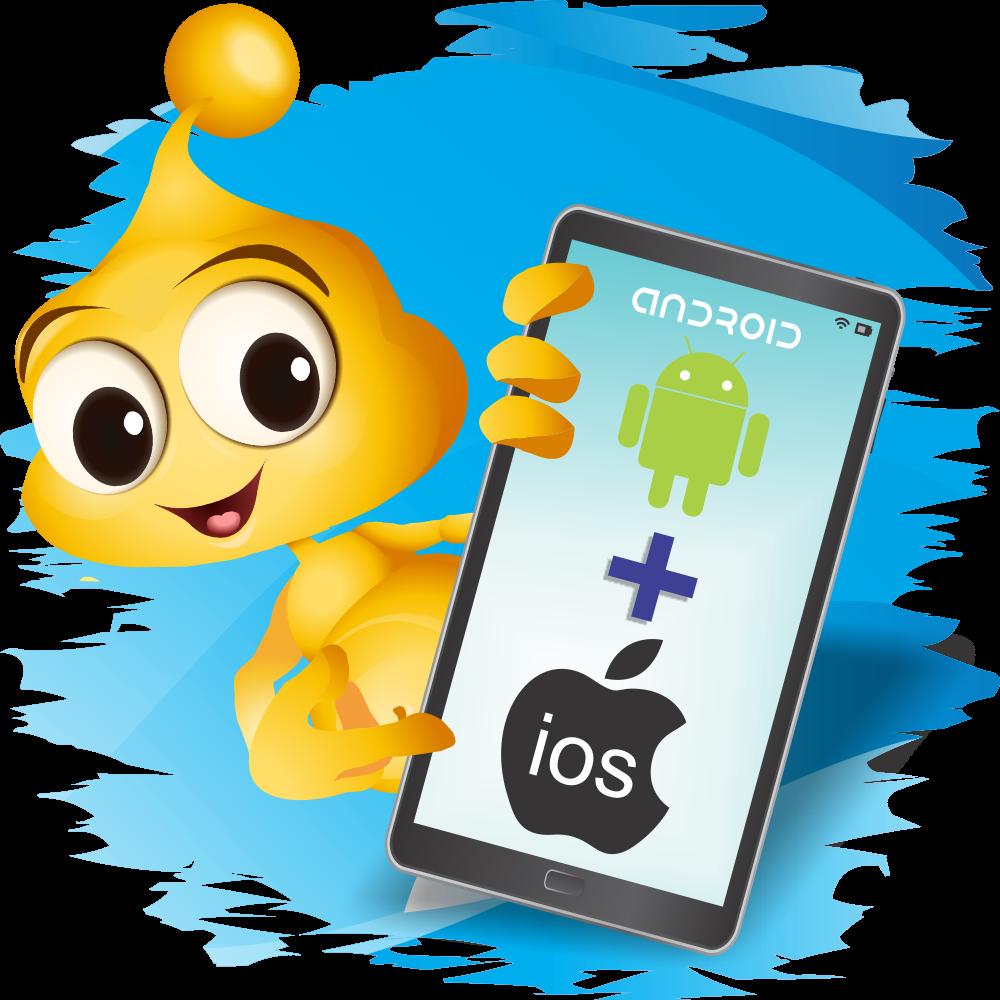 Aplicații pentru mobile Android și iOS