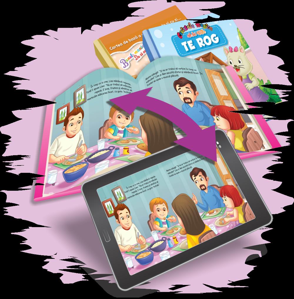 Cărți educative digitale - aplicații pentru mobile