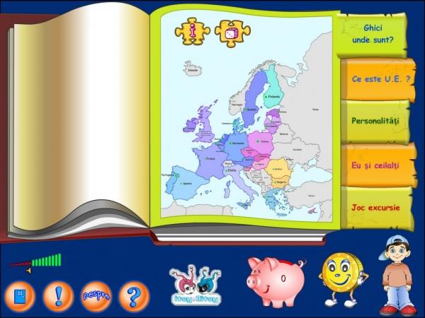 JOACĂ-TE ŞI DESCOPERĂ CU E.U. - Uniunea Europeană pe înţelesul copiilor 2