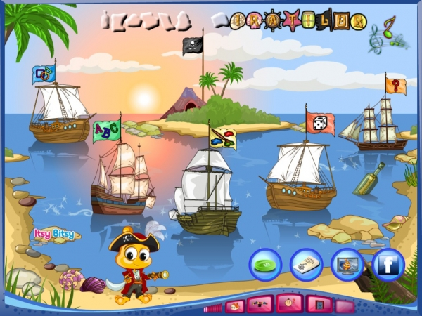 PitiClic pirat la vânătoare de cunoștințe! 1