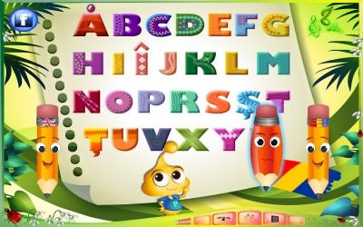 Alfabetul prin integrame cu desene1