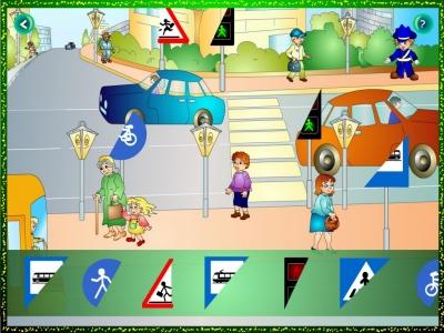 Circulația rutieră... pentru cei mici4