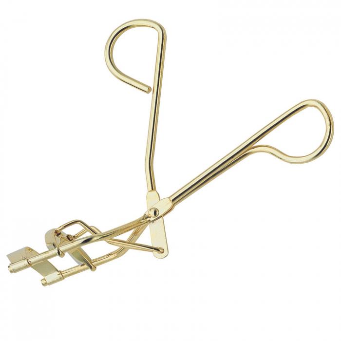 Ondulator profesional clasic de gene, din oțel aurit, 11 cm [0]