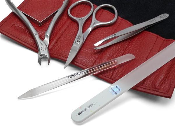 Set manichiură 5 instrumente, oțel inoxidabil FINOX® [3]