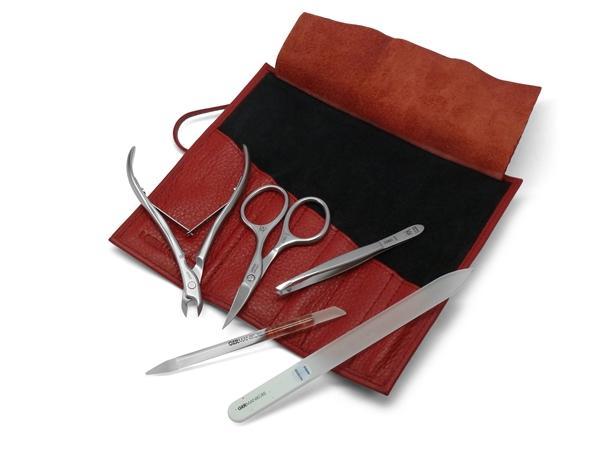 Set manichiură 5 instrumente, oțel inoxidabil FINOX® [0]