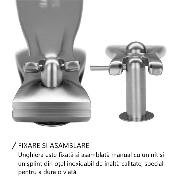 Unghieră mică pentru mâini, 6cm FINOX® [5]