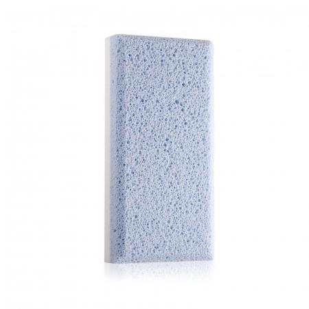 Piatră ponce antibacteriană pentru călcâie, cu două fete, de culoare albastră [1]