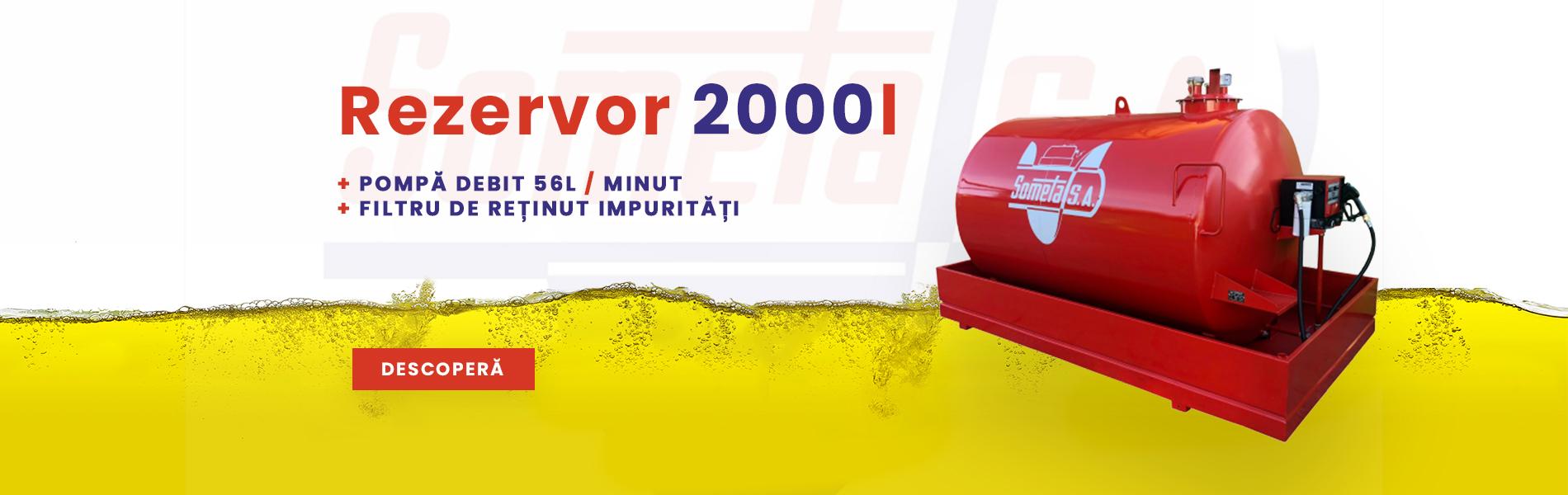 Rezervor 2000l