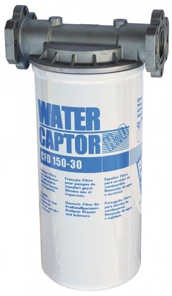 Filtru  absorbtie apa din motorina cu captator - Piusi Italia Water Captor 70L/min 0
