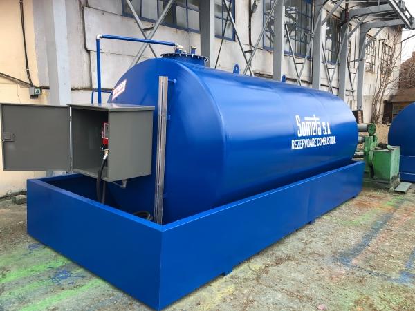 Rezervor suprateran 15000 litri cu pompa ST BOX in cutie 0
