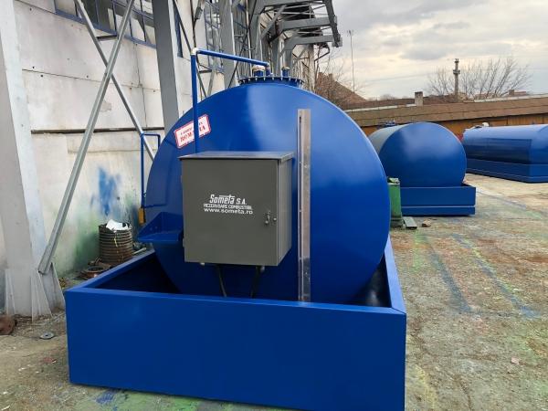 Rezervor suprateran 15000 litri cu pompa ST BOX in cutie 2