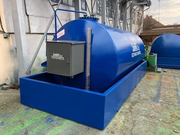 Rezervor suprateran 15000 litri cu pompa ST BOX in cutie 3