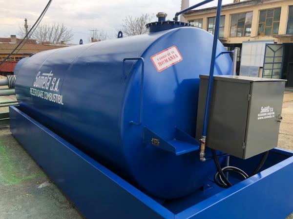 Rezervor suprateran 15000 litri cu pompa ST BOX in cutie 4