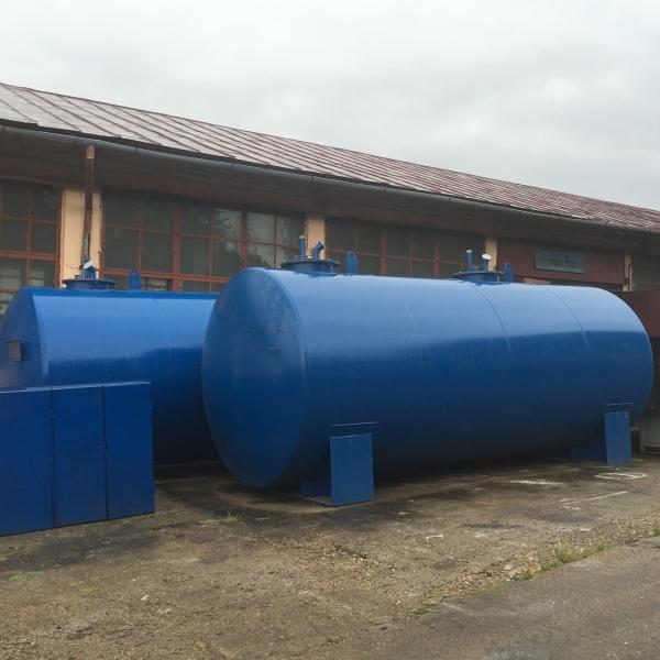 Rezervor suprateran cu pereti dubli  30000 litri 1