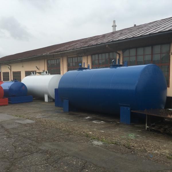 Rezervor suprateran cu pereti dubli  30000 litri 2