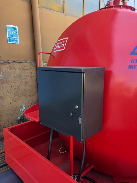 Rezervor suprateran 5000 litri cu pompă ST BOX 6