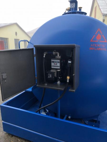 Rezervor suprateran 5000 litri cu pompă ST BOX 2