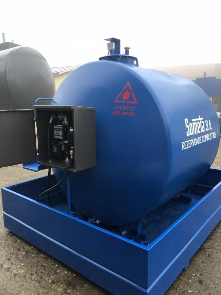 Rezervor suprateran 5000 litri cu pompă ST BOX 3
