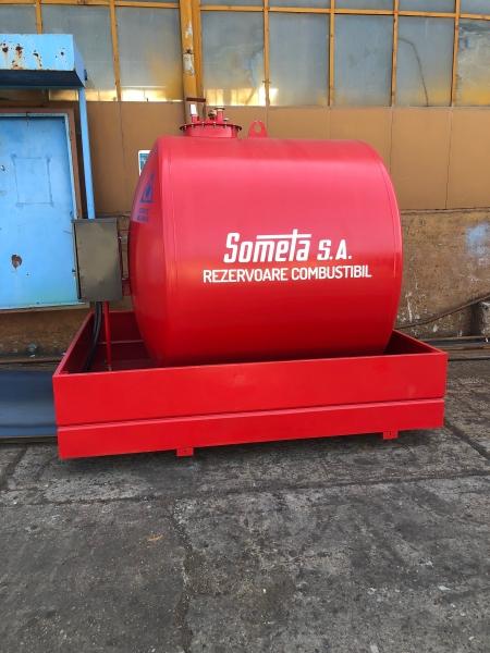 Rezervor suprateran 5000 litri cu pompă ST BOX 5
