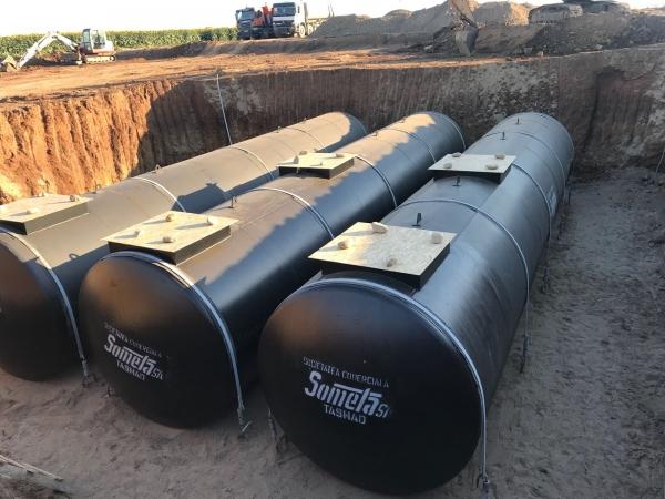 Rezervor subteran 60000 litri pereti dubli 11