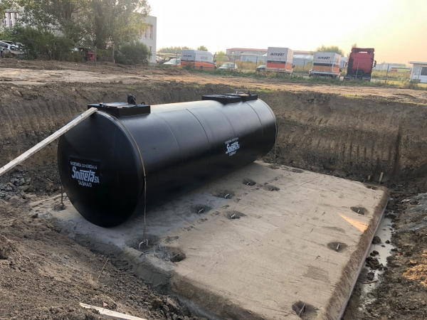 Rezervor subteran 60000 litri pereti dubli 4