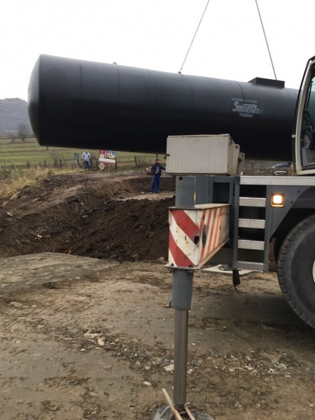 Rezervor subteran 60000 litri pereti dubli 8